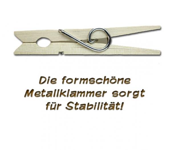 www.kniffliges.de - wäscheklammer aus holz mit einem handbemalten,
